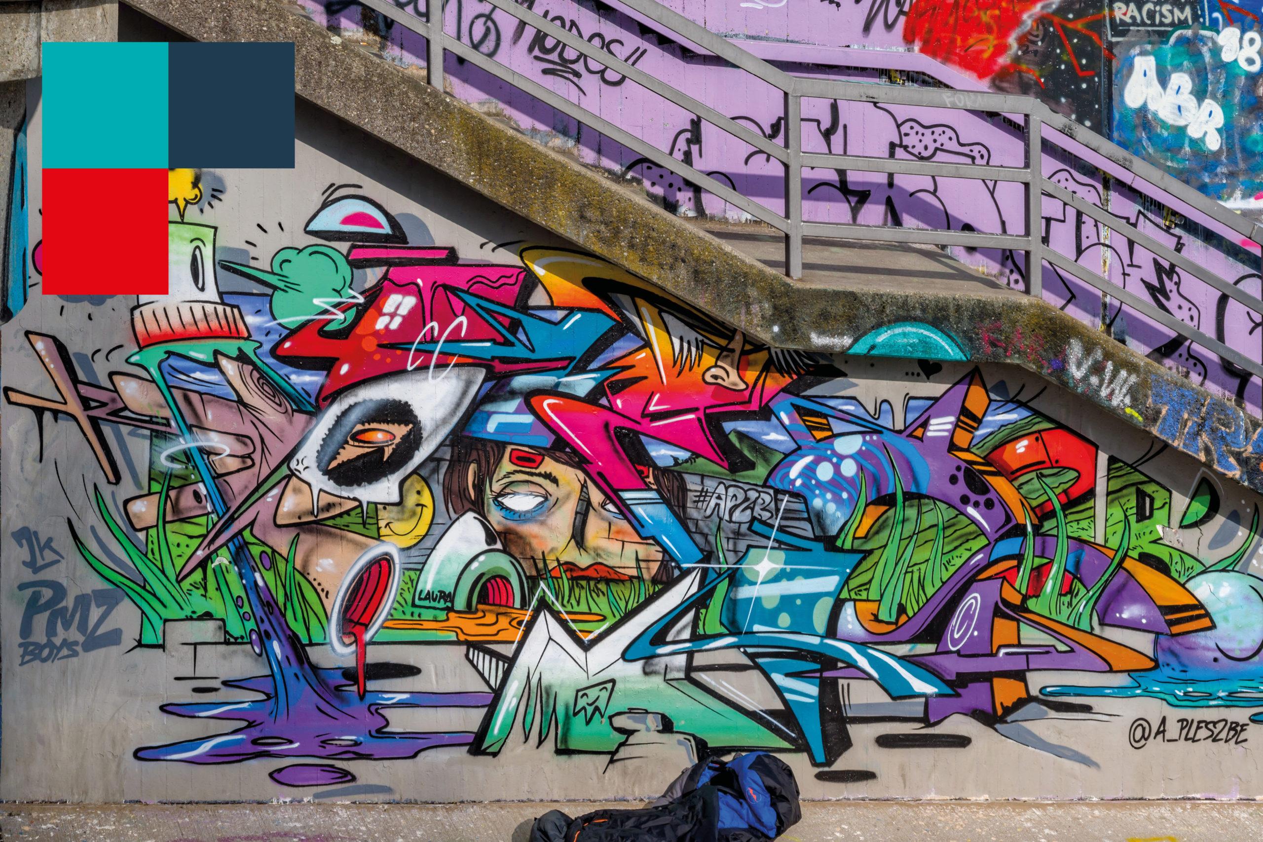 Freiflächen für Graffiti