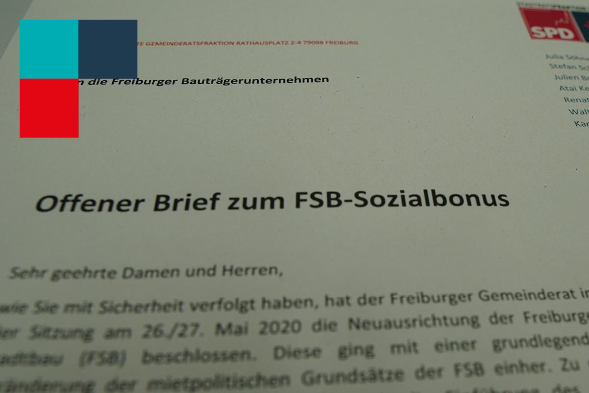 Offener Brief an die Freiburger Bauträger