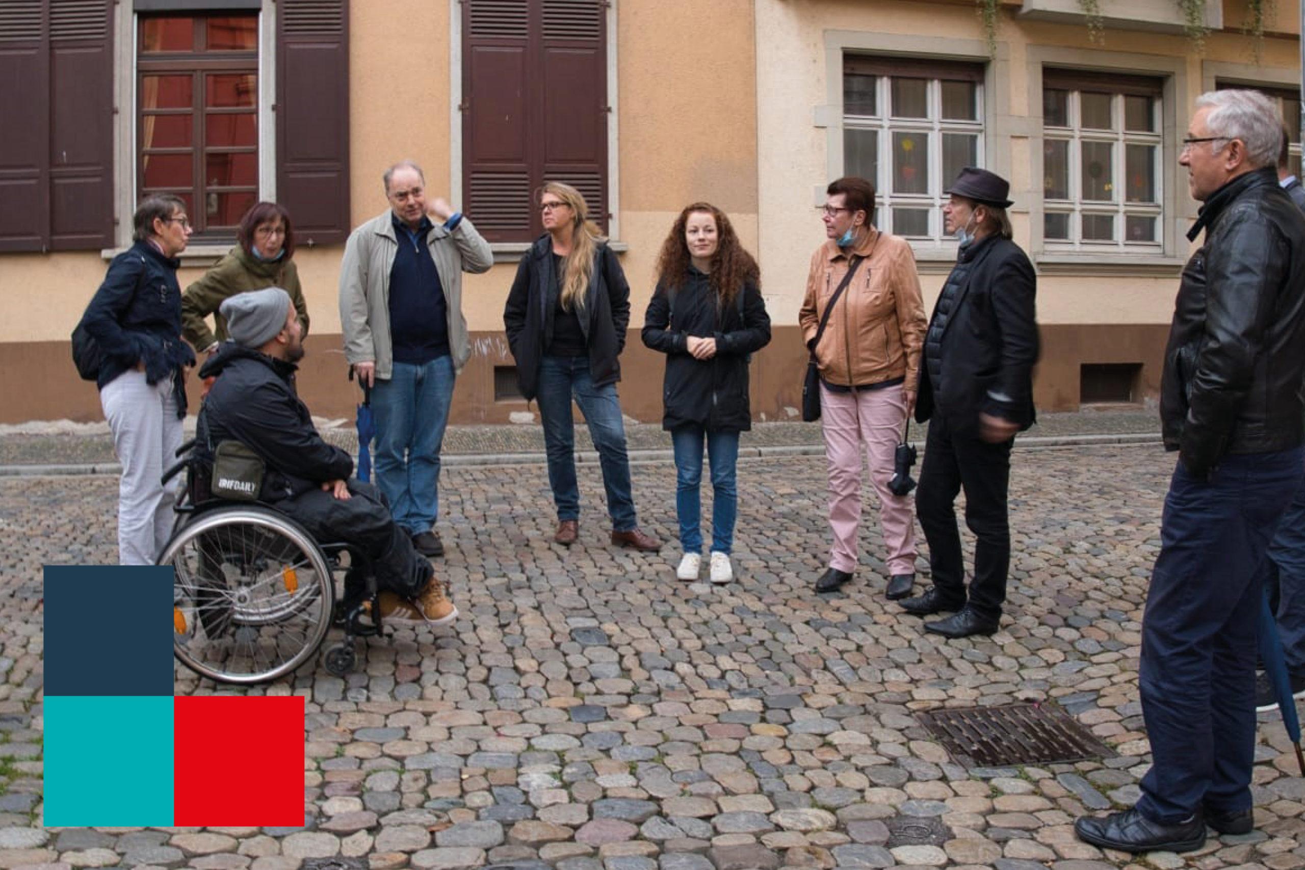 """SPD/Kulturliste zum Thema """"Außengastro"""" unterwegs"""