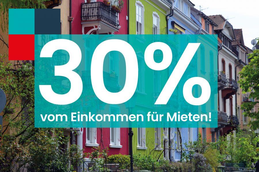30 % vom Einkommen