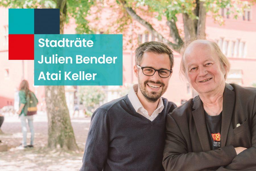 HP_Julien Bender und Atai Keller