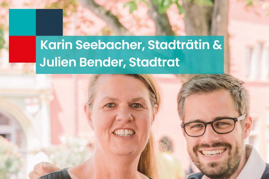 HP_Julien Bender und Karin Seebacher