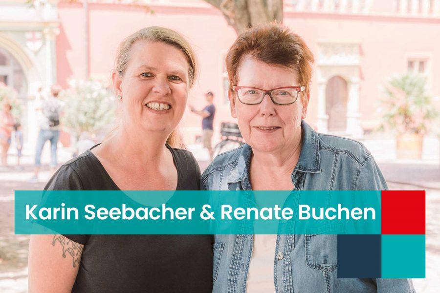 HP_Karin Seebacher und Renate Buchen