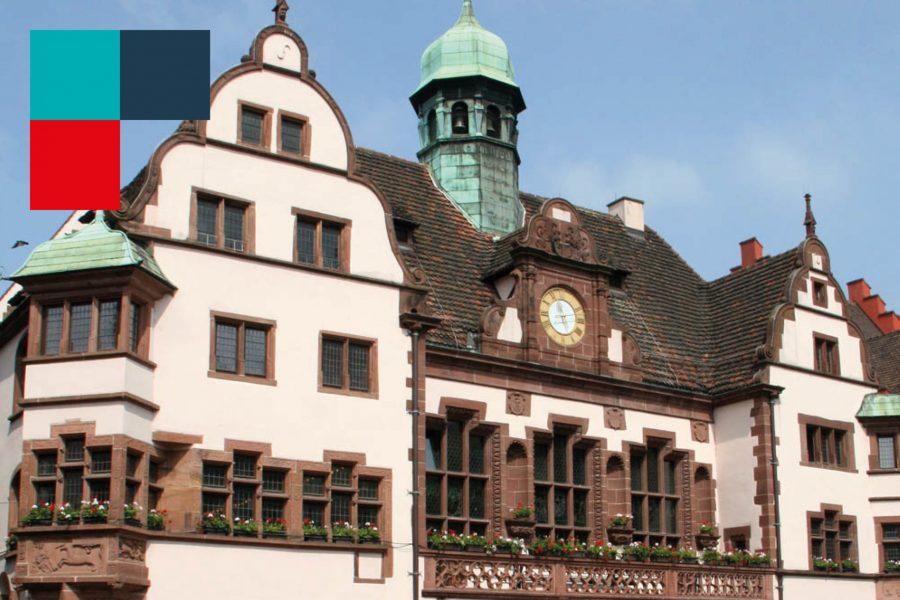 Rathaus mit KV